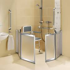 Disabled Half Height Shower Doors Disabled Showering Heat Plumb