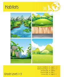 habitats lesson plan clarendon learning