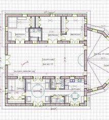 The Courtyard House Heather Fraser Building Designer Home Plans - Designer home plans