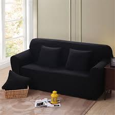 housse pour canapé housse de canapé 4 places élastique protecteur de canapé pour décor