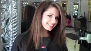 long brown hairstyles with parshall highlight my hair makeover caramel highlights layered haircut youtube