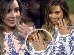 Kim Kardashian Wedding Ring by Kim Kardashian U0027s Amazing Engagement Ring From Kanye West Youtube