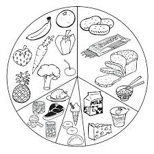 Food Coloring Pictures Printable Healthy Food Coloring Pages With Web Coloring Pages