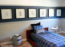 Loft Bed Set Boy Bedroom Furniture Floating White Orange Shelves On The White