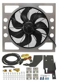 derale performance electric fan kit for 1987 2006 jeep wrangler