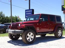 wrangler jeep 2009 red jeep wrangler in alabama for sale used cars on buysellsearch