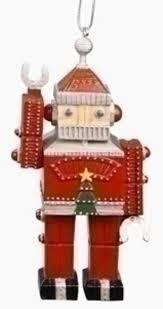 5 amusements retro vintage santa claus robot
