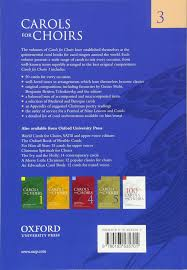 carols for choirs 3 vocal score vocal score bk 3 for