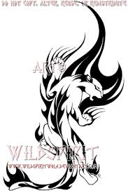 collection of 25 free tribal flames panther design