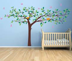 Nursery Room Tree Wall Decals Pop Decors Stickers Pop Decors Removable Vinyl Wall Decals