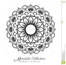 mandala design stock vector image 77110496