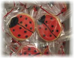 ladybug cookies always room for cake cookies