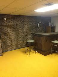 Paneling For Basement by What To Do With The Basement Walls Brick Paneling