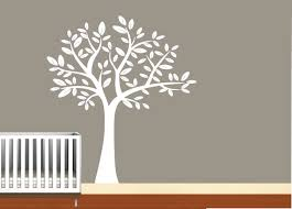 Nursery Decals For Walls by White Tree Wall Decals For Nursery Thenurseries