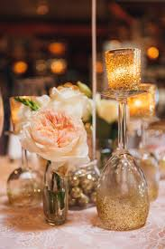 Pink And Gold Centerpieces by Pink And Gold Glitter Bridal Shower The Majestic Vision