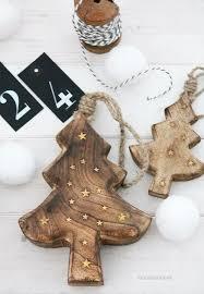 25 unique wooden tree decorations ideas on