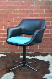 Retro Swivel Armchair Mid Century Danish Deluxe Swivel Chair Office Chair Dining Chair