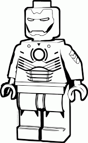 coloring page iron lego iron coloring pages home and page snap cara org