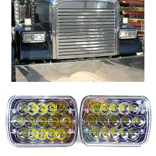 genssi led headlights sealed beam headlamp for freightliner fld120