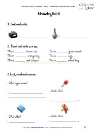 exercises with pictures demonstrative pronouns