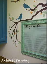 Dry Erase Board Decorating Ideas Space Saving Framed Magnetic Chalkboard Spice Rack To Hang On Wall