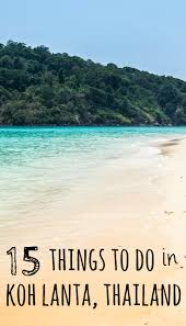 things to do and where to stay in koh lanta thailand bungalow
