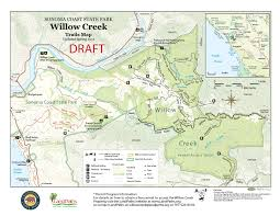 Green Ridge State Forest Camping Map by Trails U2014 Sonoma County Trails Council