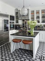 black and white kitchen cabinets by shawn henderson photos
