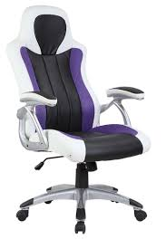 white computer chair gm seating ergolux genuine leather executive