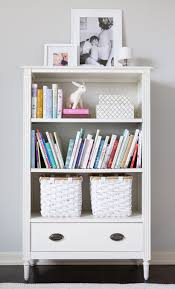 Kids White Bookcase by Phoebe U0027s
