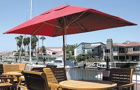 Rectangle Patio Umbrella Outdoor Umbrella Rectangular Olive Garden Interior Throughout