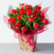 flowers for valentines day tulips gift bag s day flowers s day