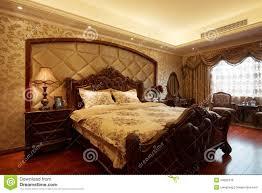 the cozy bedrooms stock photo image of wood sleep furniture
