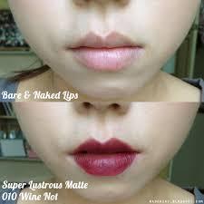 tutorial lipstik revlon revlon super lustrous lipstick matte 010 wine not swatches review