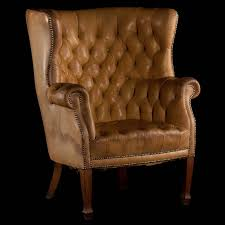 Queen Anne Wingback Chair Queen Anne Leather Wingback Chair