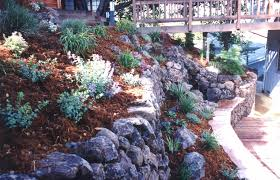 Garden Rock Wall Wall Gallery Retaining Walls Garden Walls In Stucco And