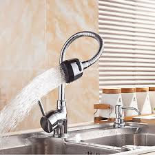 kitchen faucet brass kcasa kitchen faucet solid brass pull swivel tap