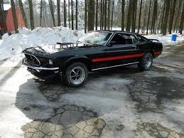 1970 Mustang Mach 1 Black 1969 Ford Mustang Mach 1 Black Red Stripes Classic Ford Mustangs