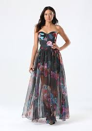 organza maxi skirt dress bebe