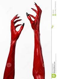 halloween background devil red devil u0027s hands with black nails red hands of satan halloween