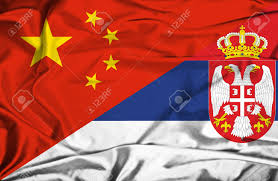 China Flags China And Serbia Cooperation Applauded