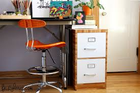 contact paper file cabinet a tale of two file cabinets a diy success feisty harriet