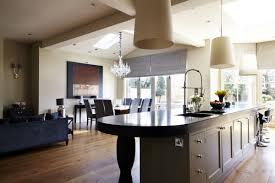 Modern Victorian Kitchen Design Kitchen Style Chandeliers Wood Countertop Brown Wood Range Hood