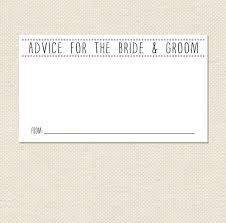 advice cards for the and groom printable 3 5x2 or 6x4 groom advice cards pdf instant
