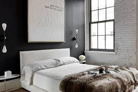 d馗oration chambre peinture murale mignon chambre mur gris meuble noir design chemin e ou autre deco