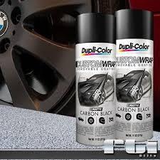 2 dupli color matte carbon black custom wrap removable spray paint