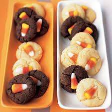 easy thanksgiving cookies candy corn sugar cookies