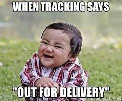 Baby Delivery Meme - when tracking says out for delivery evil plan baby meme generator