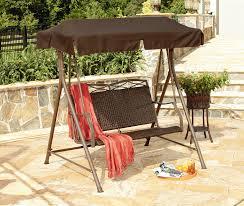 wicker patio swing techieblogie info