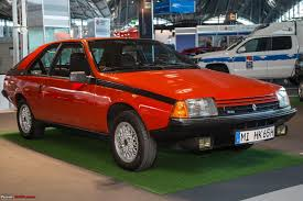 renault fuego black the stars of 1983 u201d frankfurt auto show 2013 team bhp